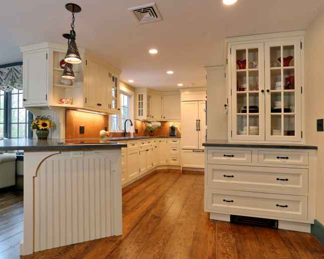 Kitchen Remodel For Historic Weston MA Home