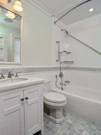 Cape cod whole house remodel vintage update for Remodeling bathroom ideas older homes