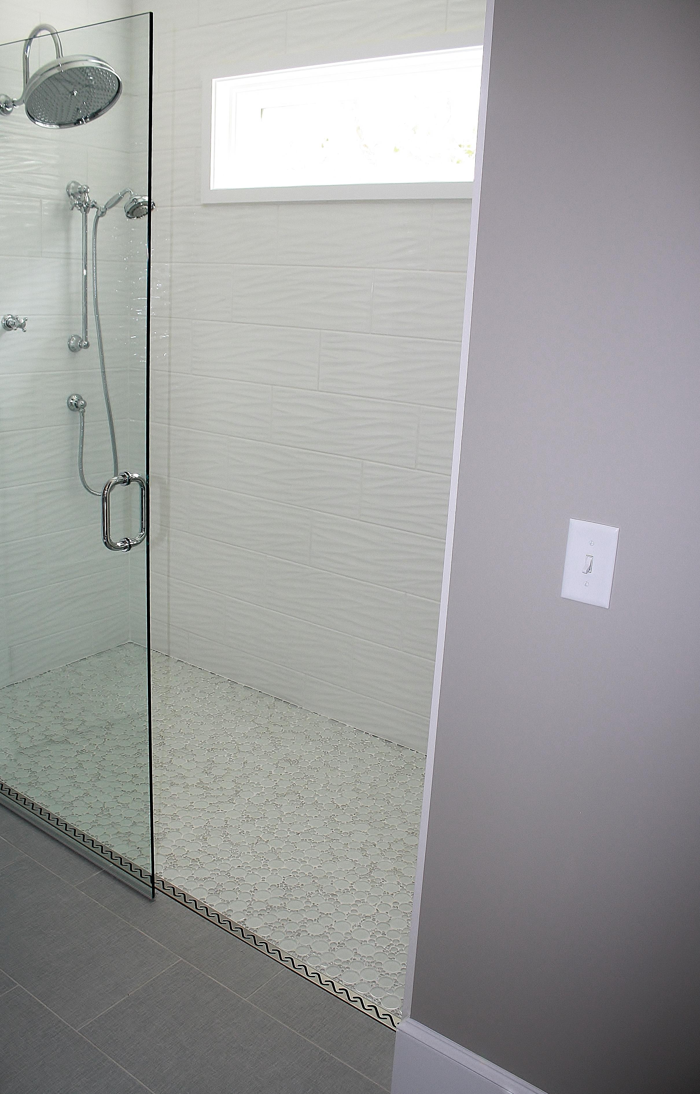 Emerging Bathroom Trend Zero Threshold Shower