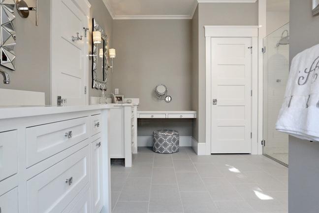Contemporary bathroom in Cape Cod home. Cape Cod Custom Home  Dream Home for Dream Property